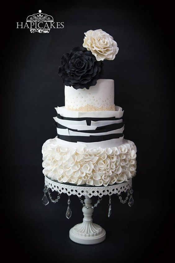 White Chandelier Cake Stand   Opulent Treasures