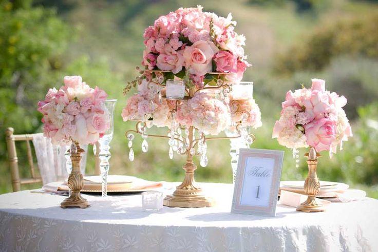 Wedding Tablescape   Floral Bouquet