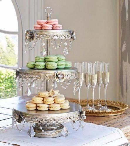 3 Tier Chandelier Dessert Stand   Opulent Treasures