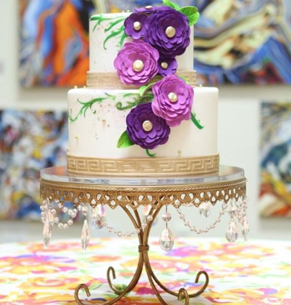 Chandelier Loopy Cake Plate