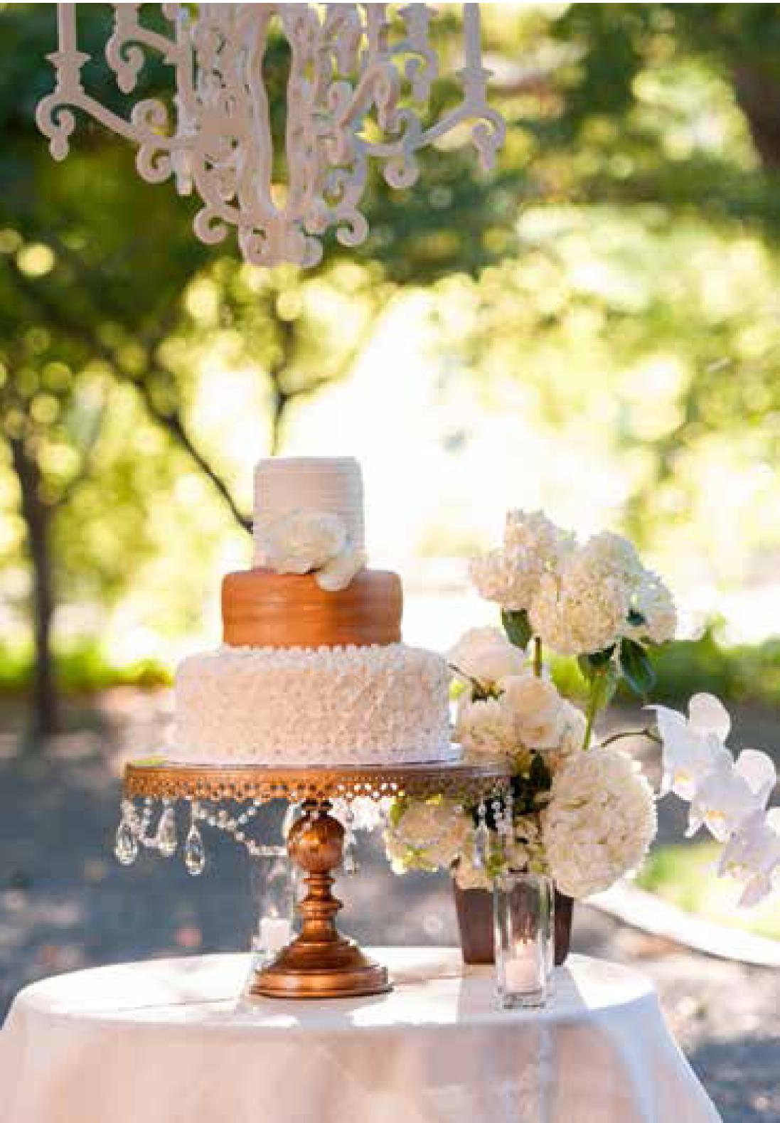 Grand Round Wedding Cake Stand