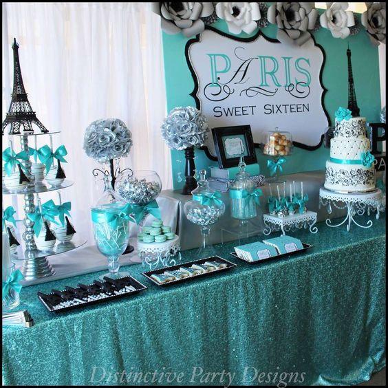 Sweet Sixteen Dessert Table