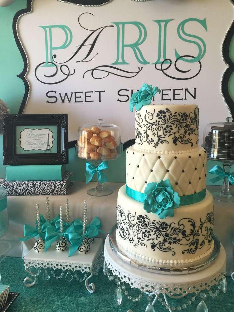 Sweet Sixteen Birthday Cake Ideas