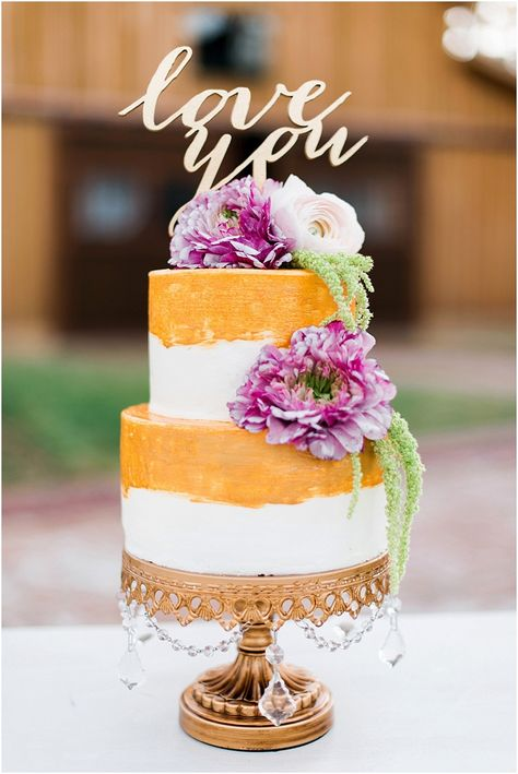 Love You Cake Topper