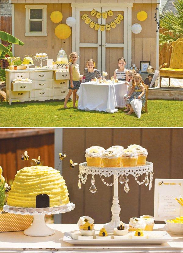 Kids Birthday Party Ideas  White Chandelier Cake Stand