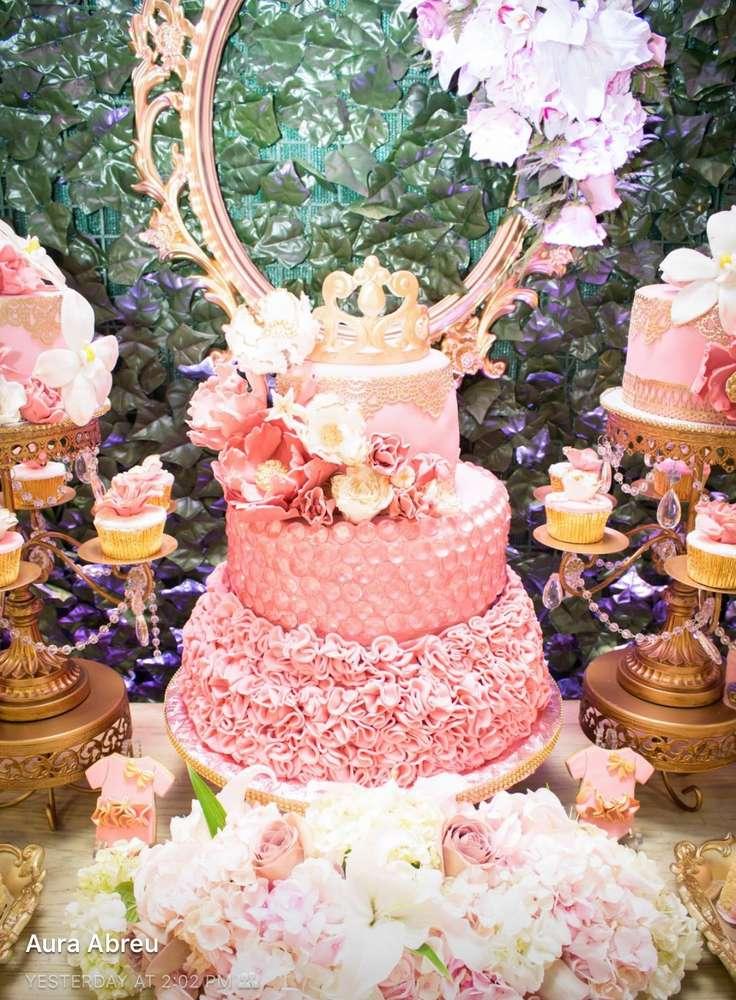 Cake Table Ideas   Rosebud Dessert Stands