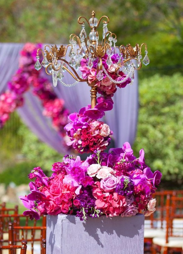 Get the look ... Iris Four Taper Candelabra