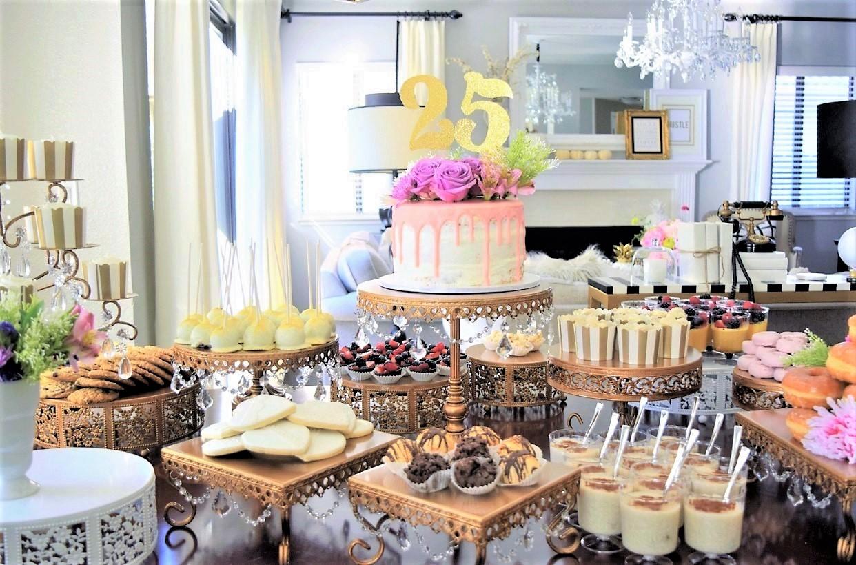 opulent treasures dessert table