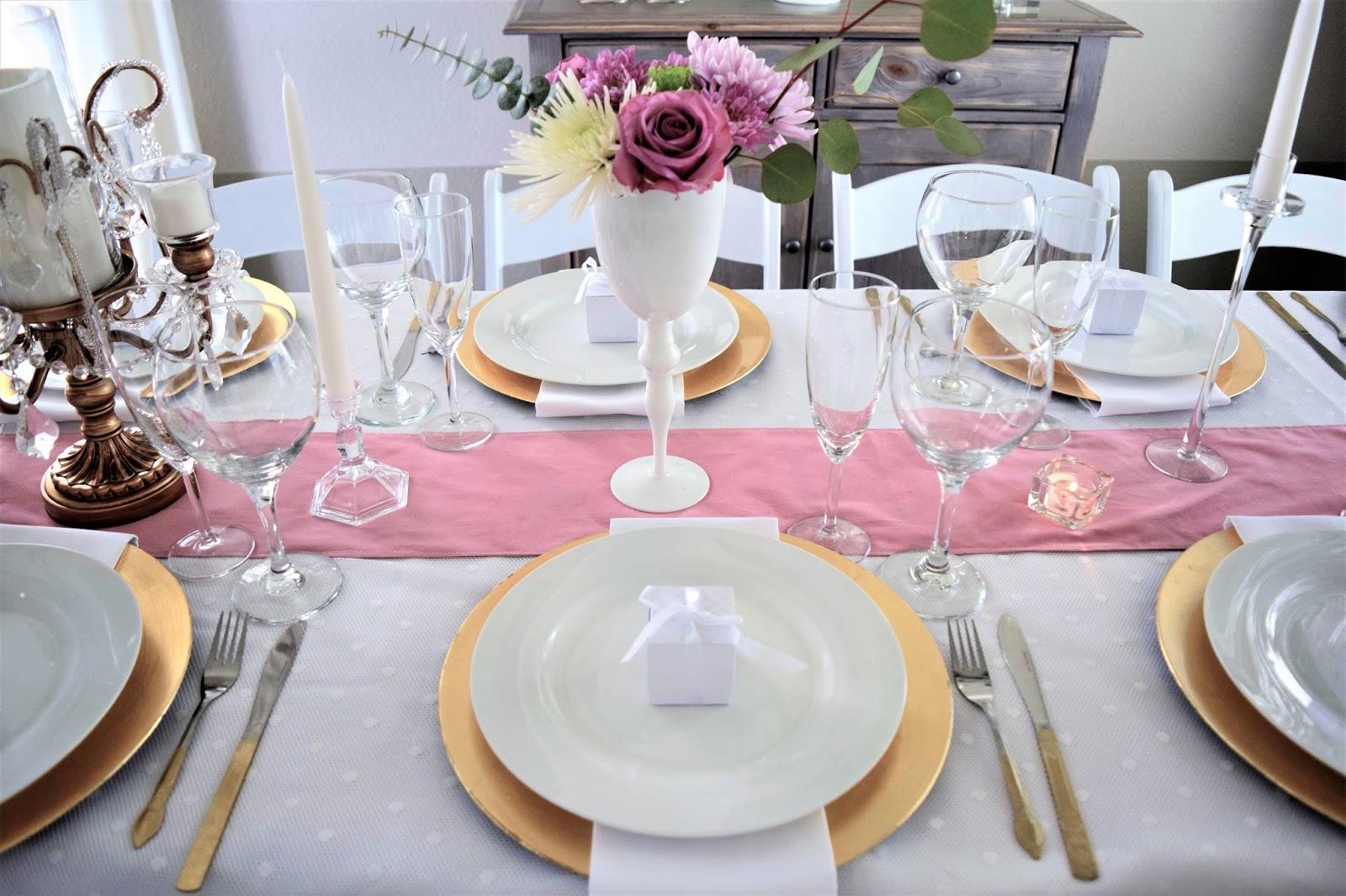 opulent treasures table setting