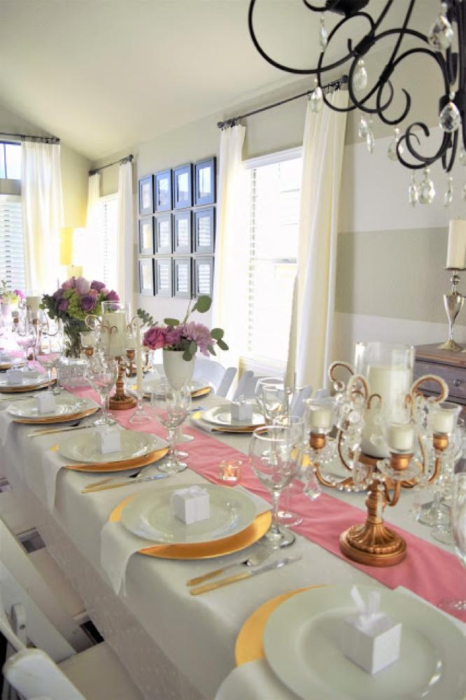 opulent treasures table