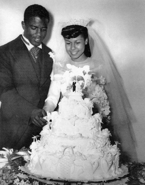 Jackie & Rachel Robinson 1946