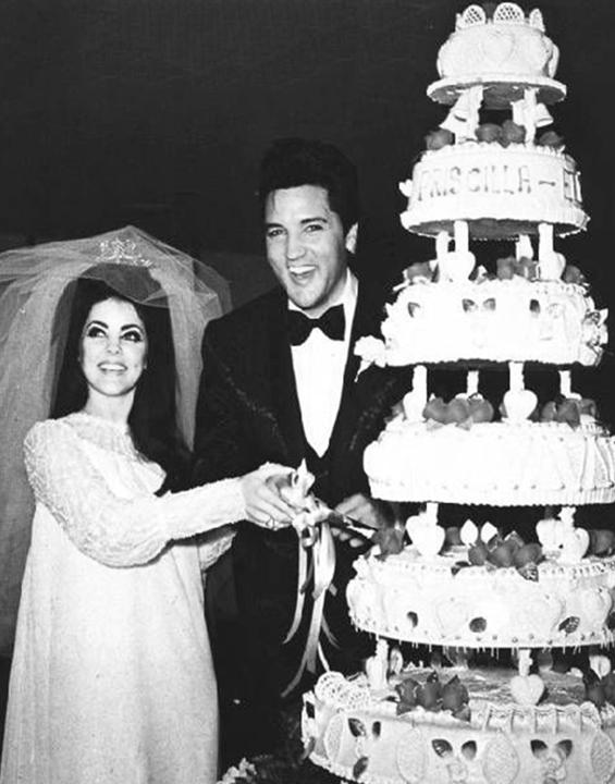 Elvis & Priscilla Presley 1967