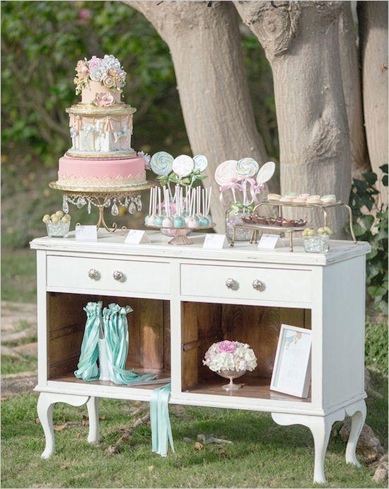 gold-chandelier-cake-stand-vintage-desk.jpg