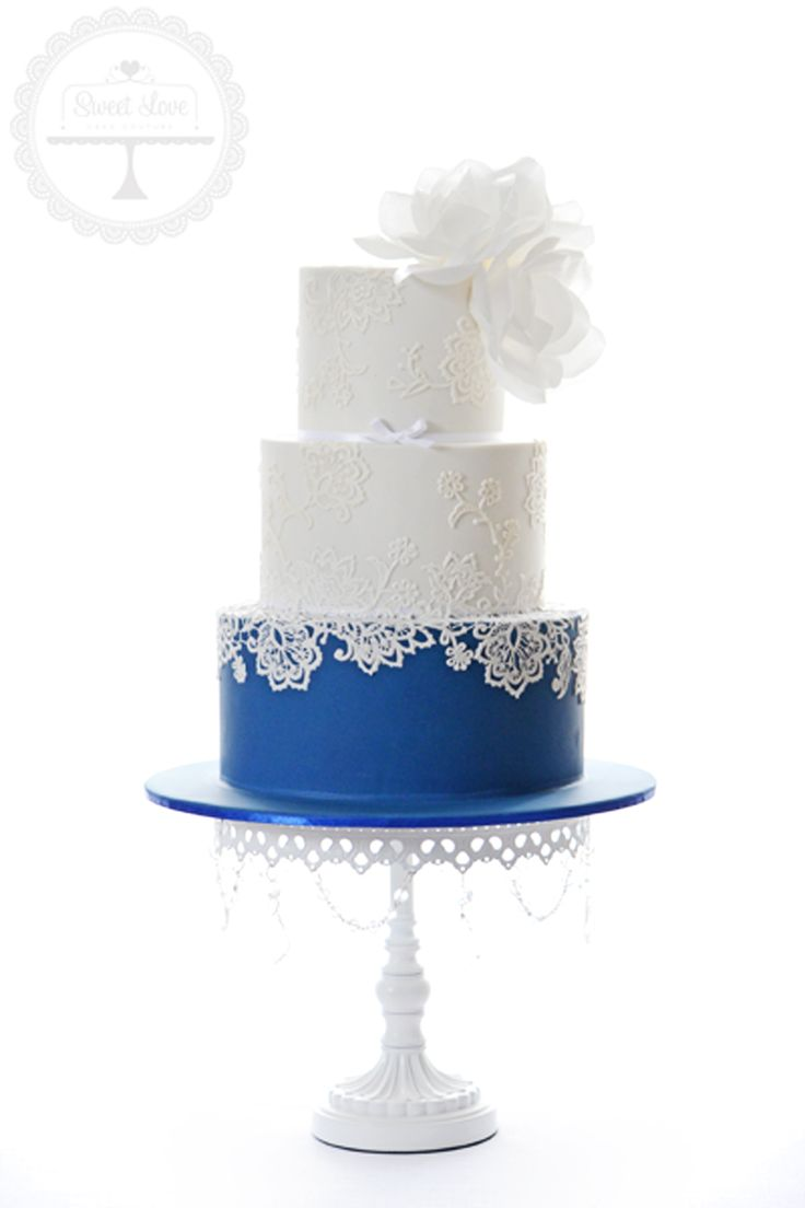 Cake Design by  Sweet Love Cake Couture  Opulent Treasures  White Chandelier Cake Stand
