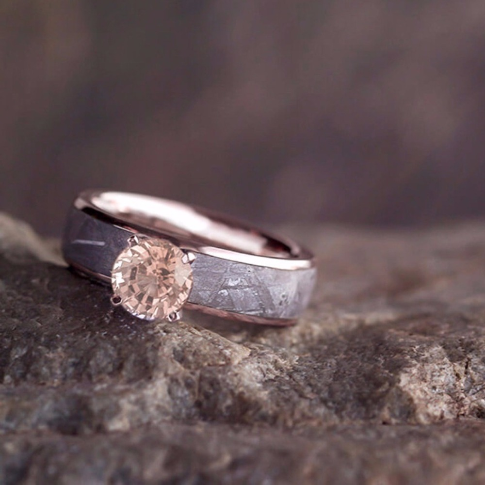 This is what we'd call rose gold glam, with forever edge   Jewelry by Johan