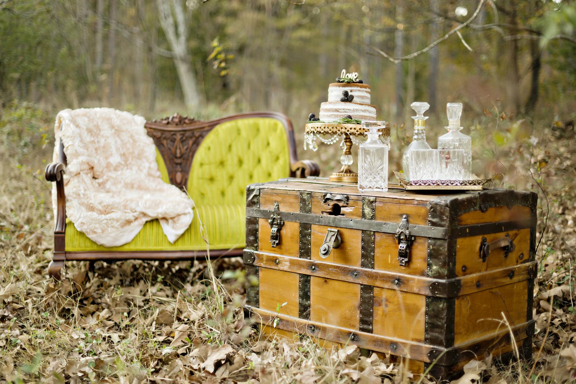 Opulent Treasures Cake Stands Andie Freeman Photo Bohemian Wedding04.jpg