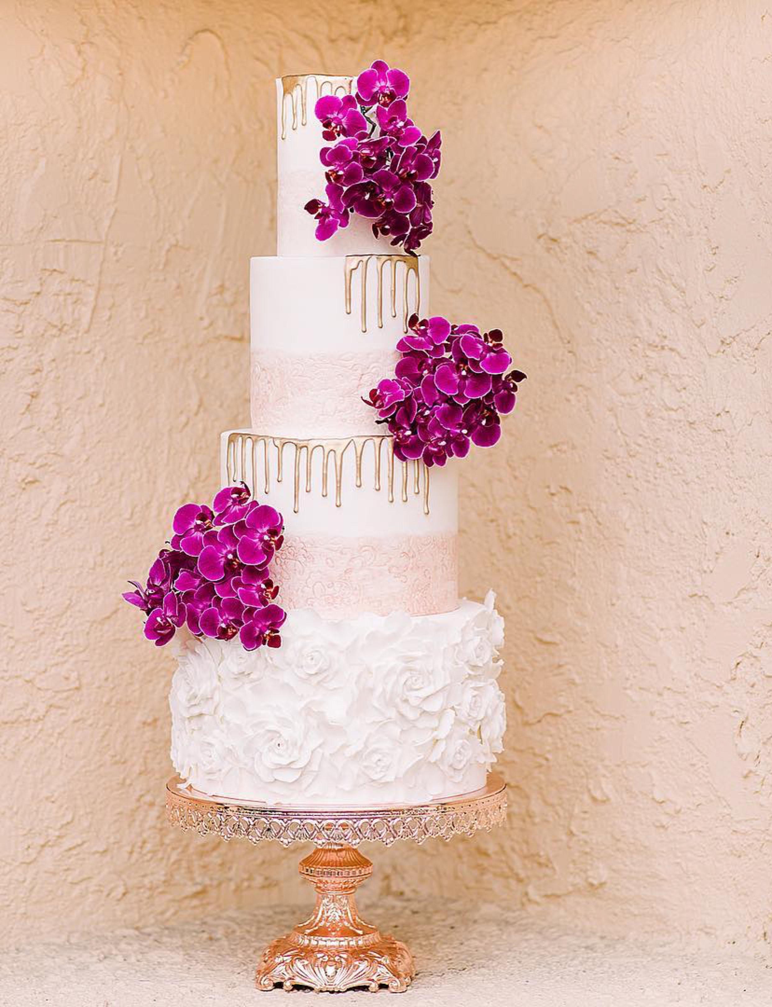 Rose Gold Baroque Cake Stand jenifermichellephotography.jpg