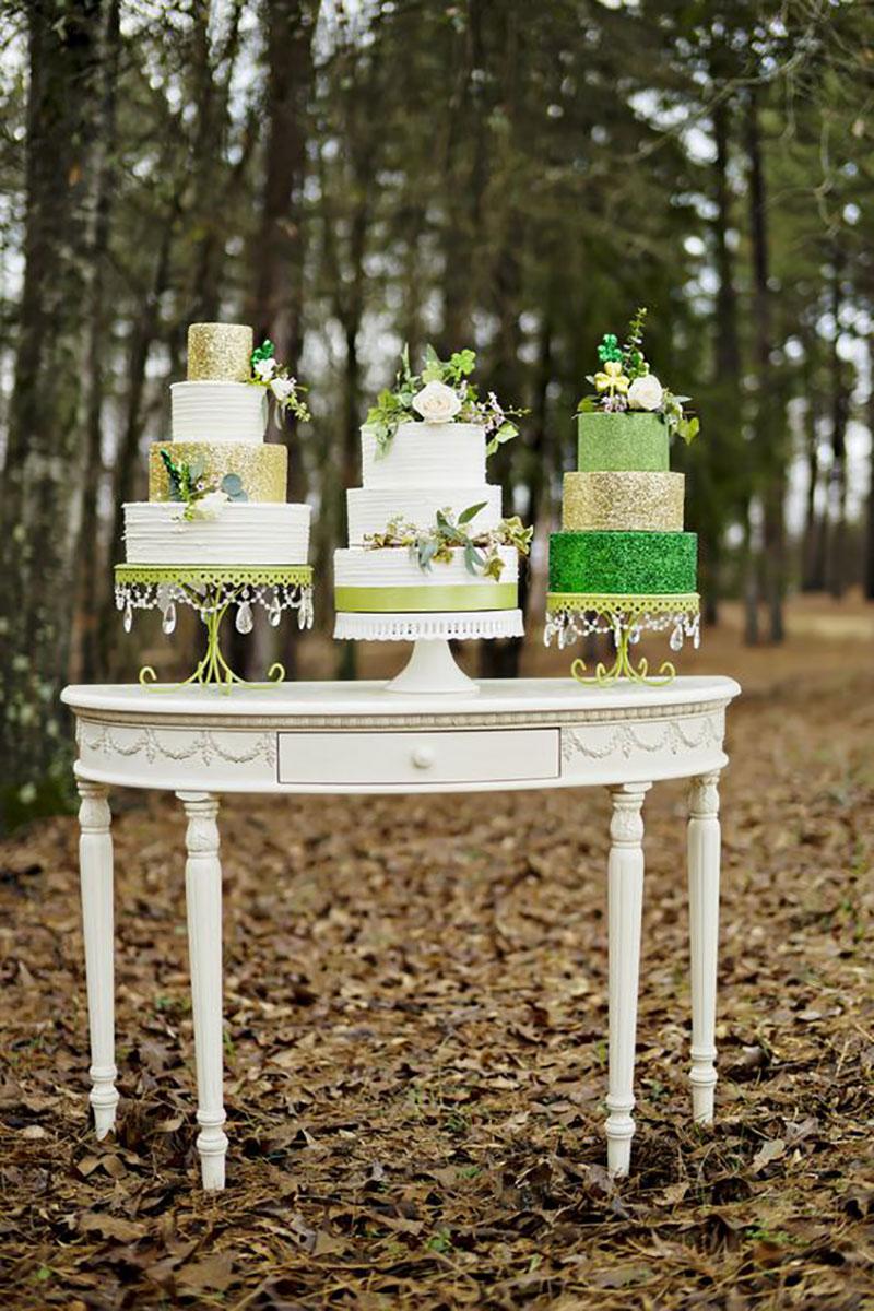 Irish wedding cakes outdoor wedding cake table opulent treasures.jpg