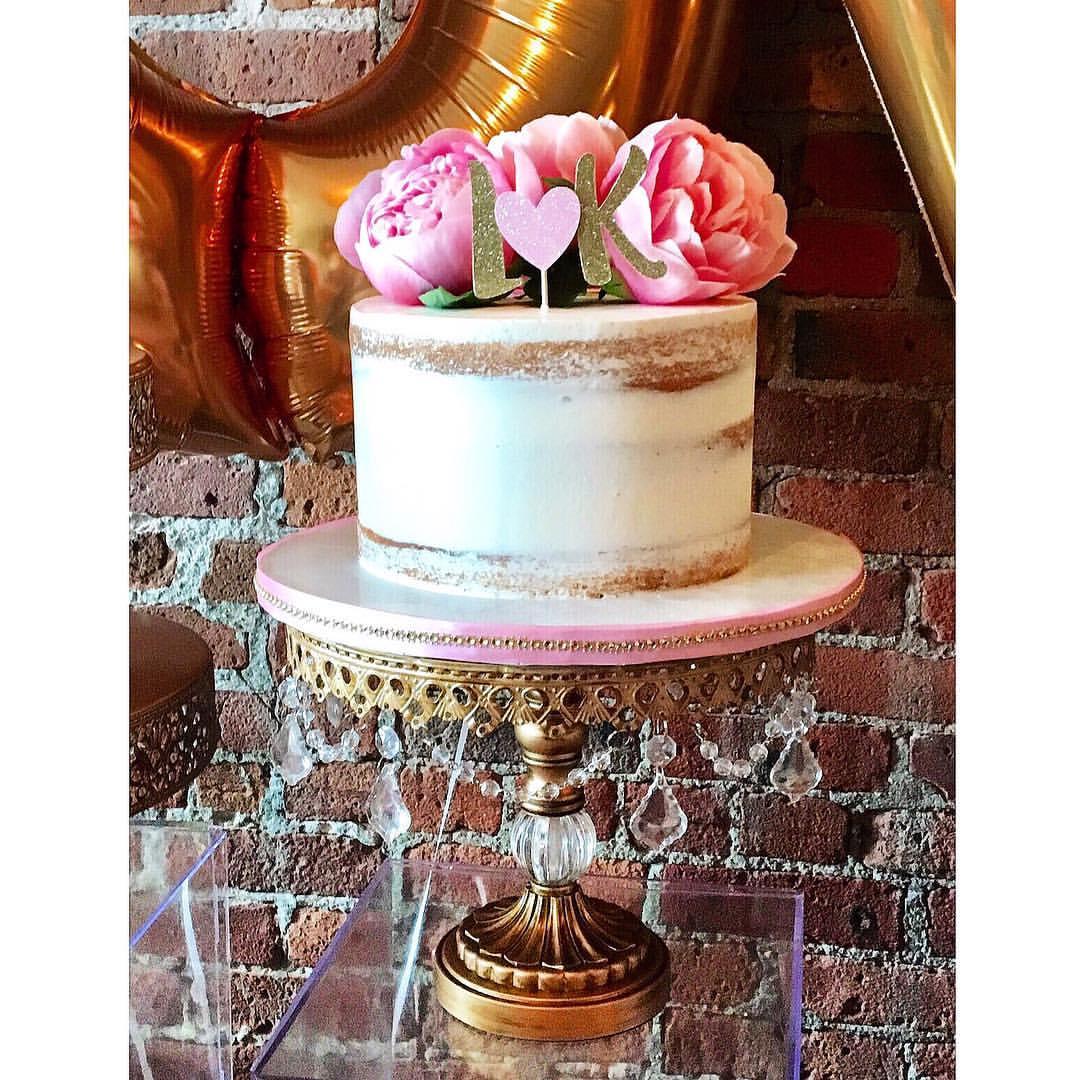 antique gold chandelier cake stand opulent treasures.jpg