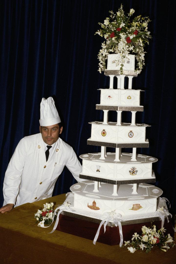 Princess Diana's Wedding Cake