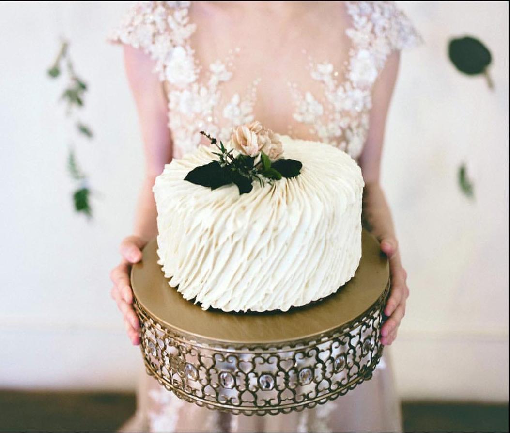 bride wedding cake stand opulent treasures.jpg