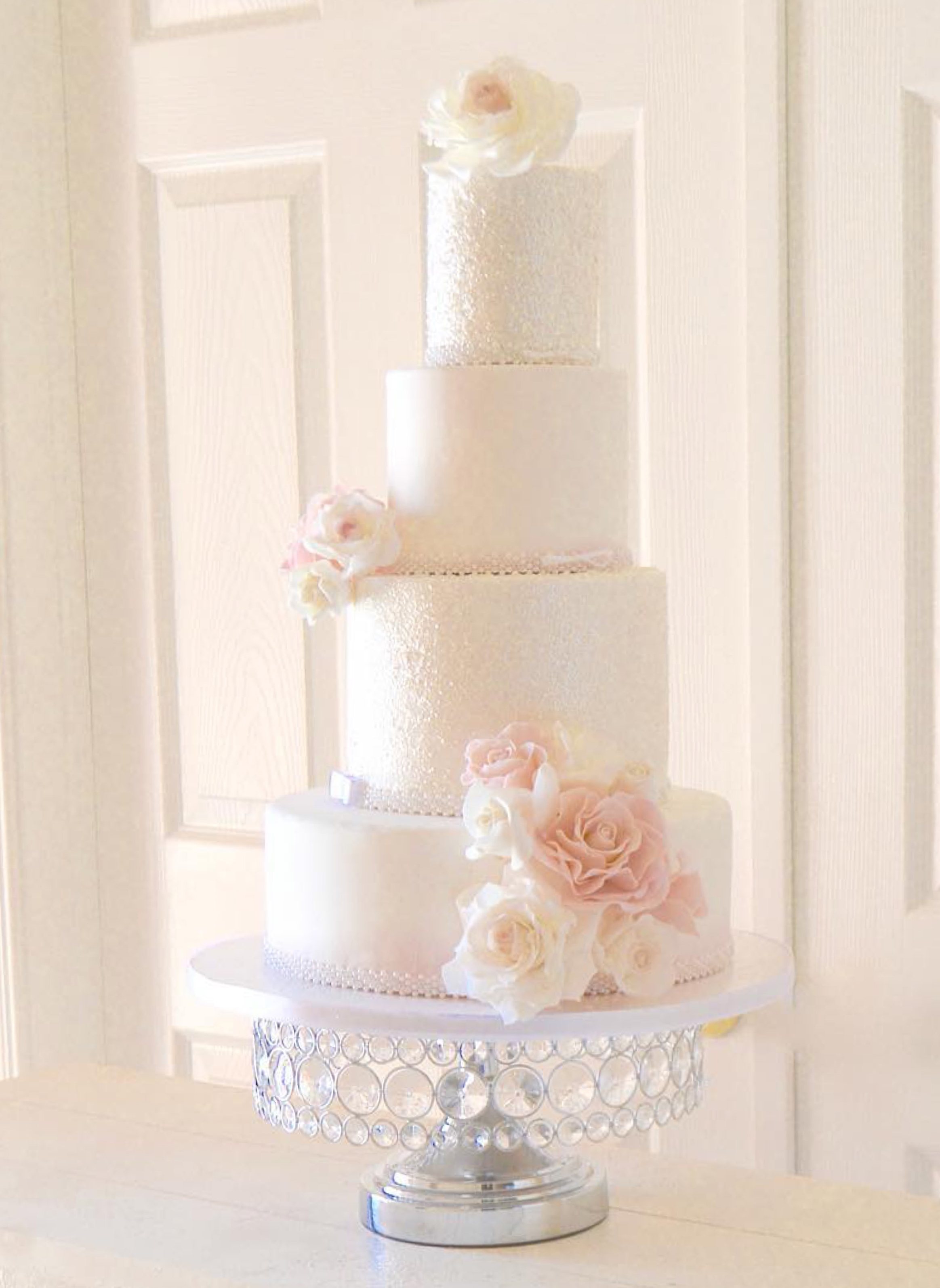 shiny silver bling cake stand by opulent treasures.jpg