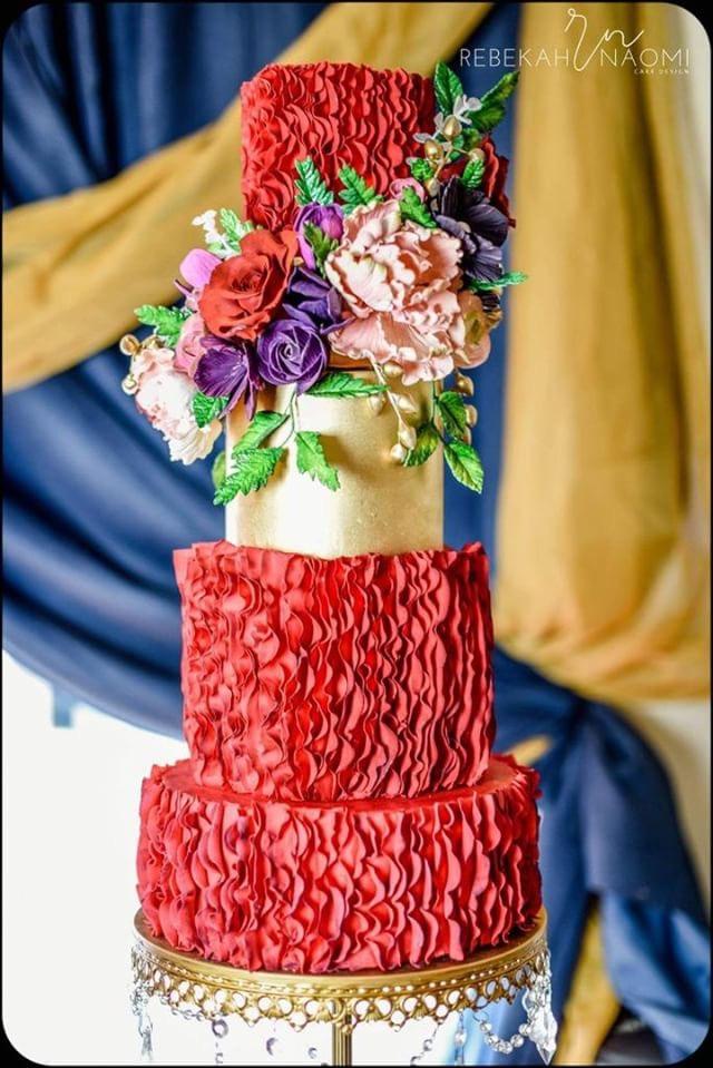 cake:  Rebekah Naomi Cake Design