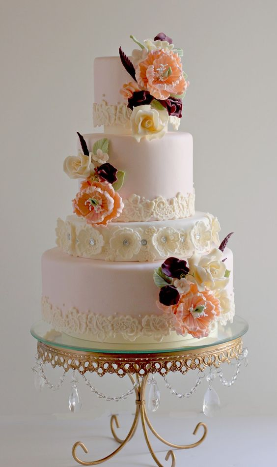 opulent treasures antique gold cake stand the couture cakery wedding cake .jpg