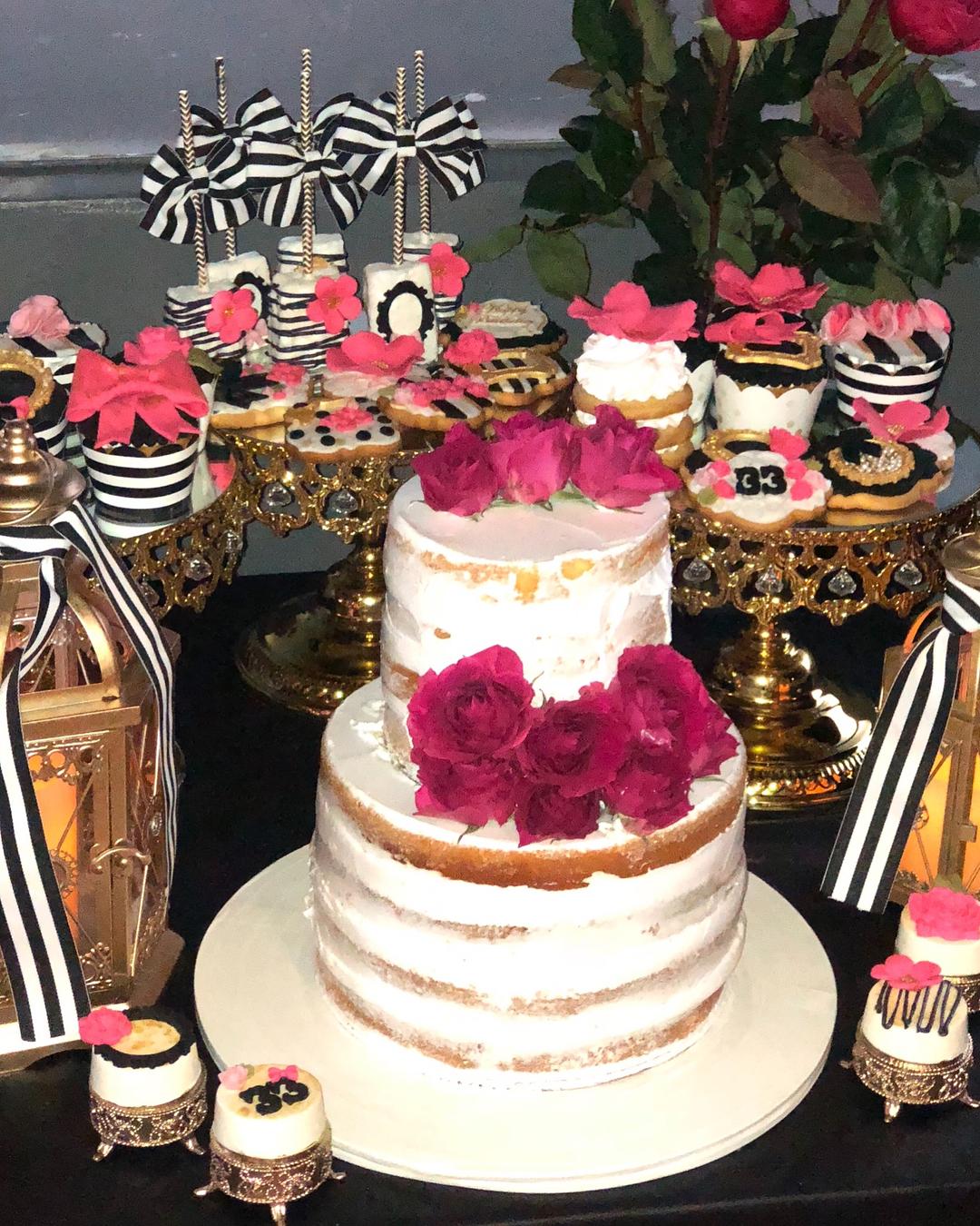 opulent treasures shiny gold cake stands bake lake cupcakes.jpg