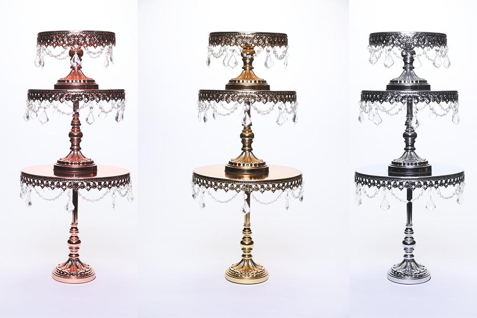 Opulent Treasures Chandelier Round Cakes (set of 3)