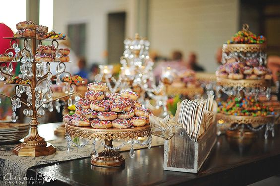 Opulent Treasures  Dessert Stands • Photo:  Arina B Photography