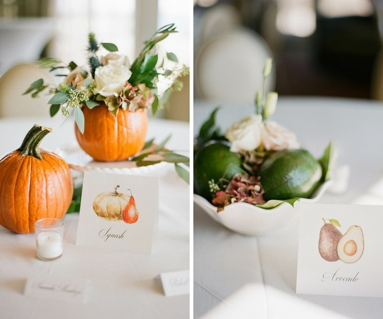 natural organic wedding table numbers.jpg