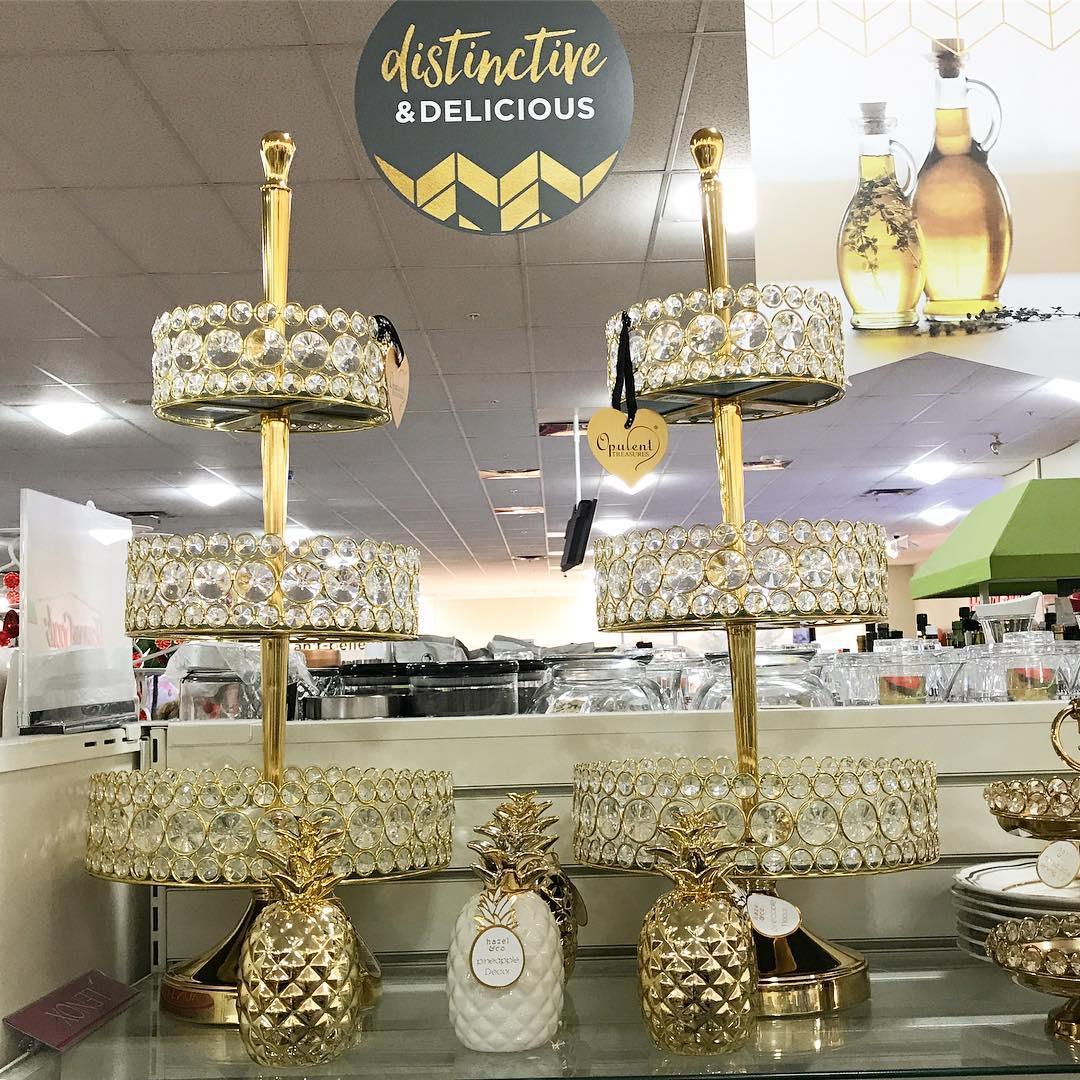 Bling Tiered Dessert Stands Home Goods Opulent Treasures.jpg