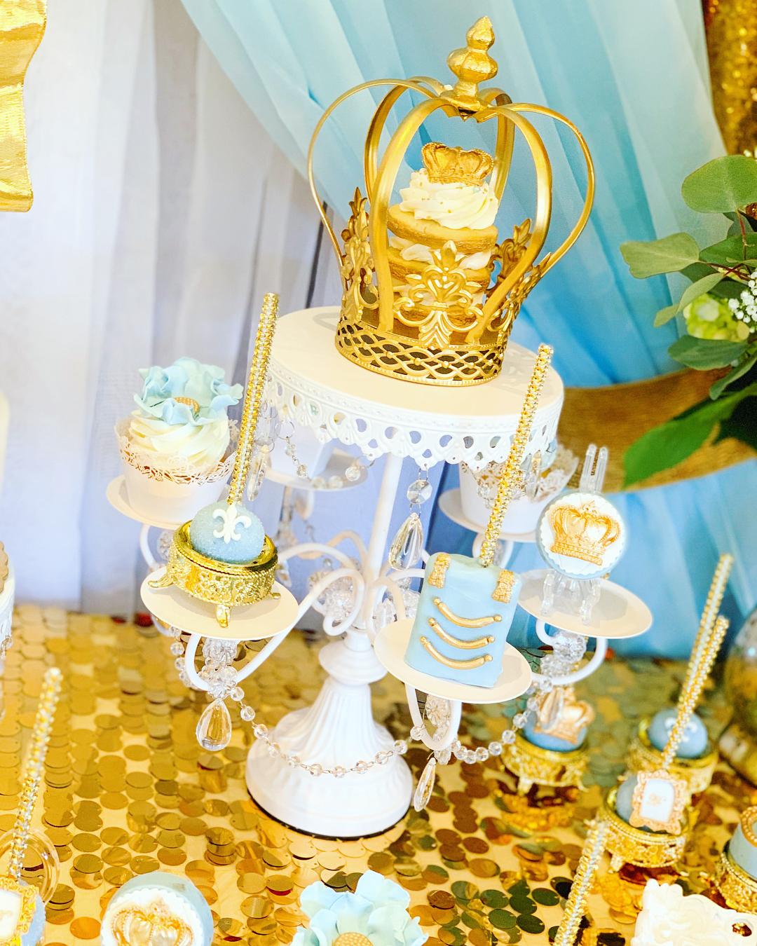 white chandelier dessert stand opulent treasures.jpg