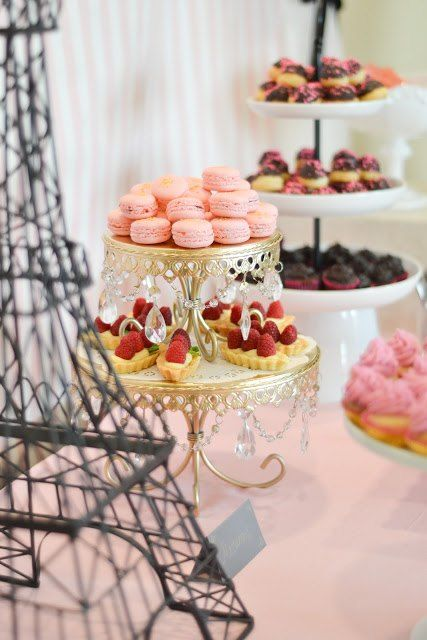 Desserts created by Kim at  Garnish Catering  • cake stand  Opulent Treasures