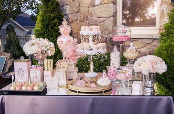 Candy Station  Candy by Katie  • cake stand  Opulent Treasures
