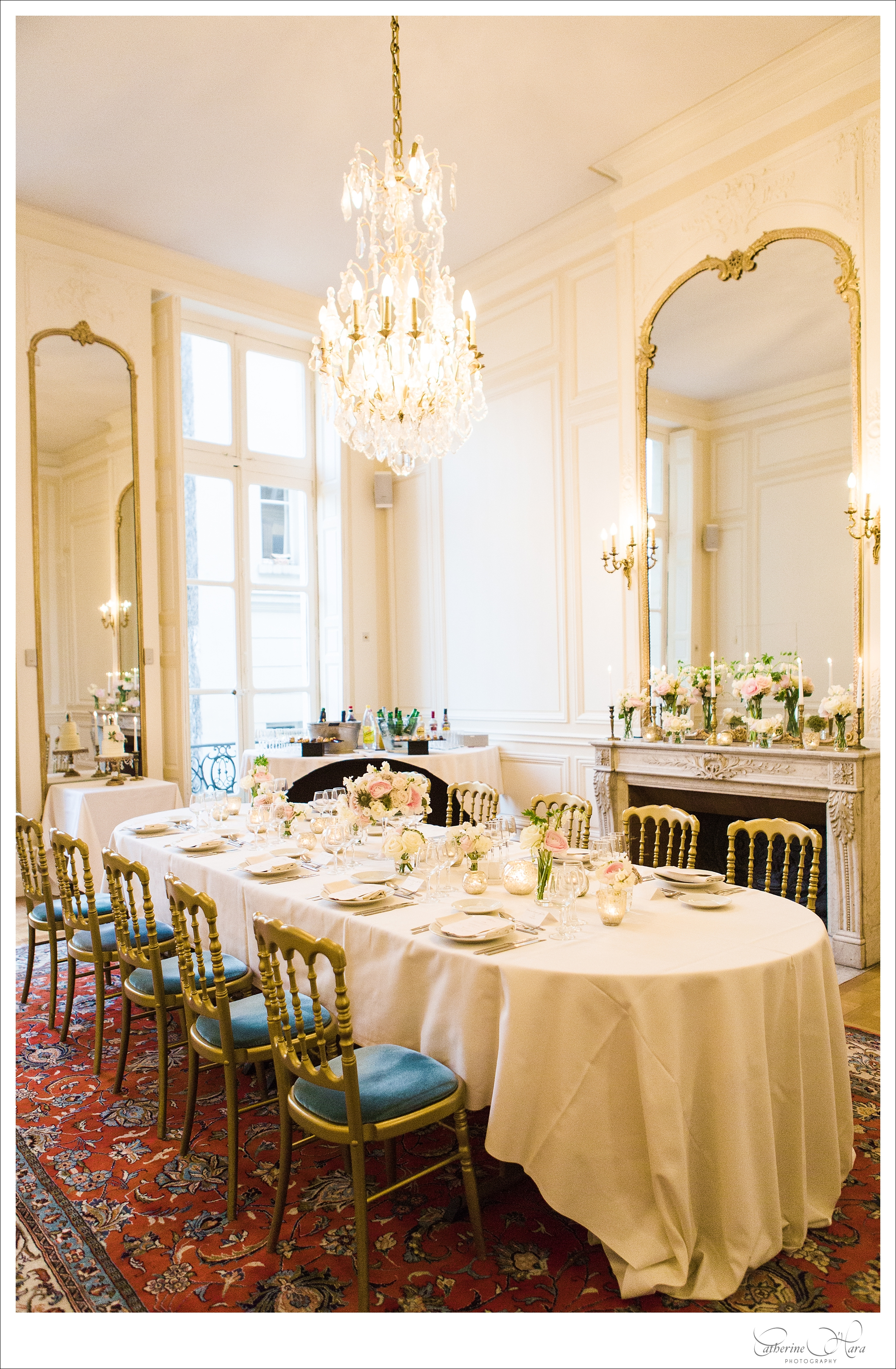 wedding planner  Fete In France    • flowers    Sol Y Flor   •  photo  Catherine O'Hara