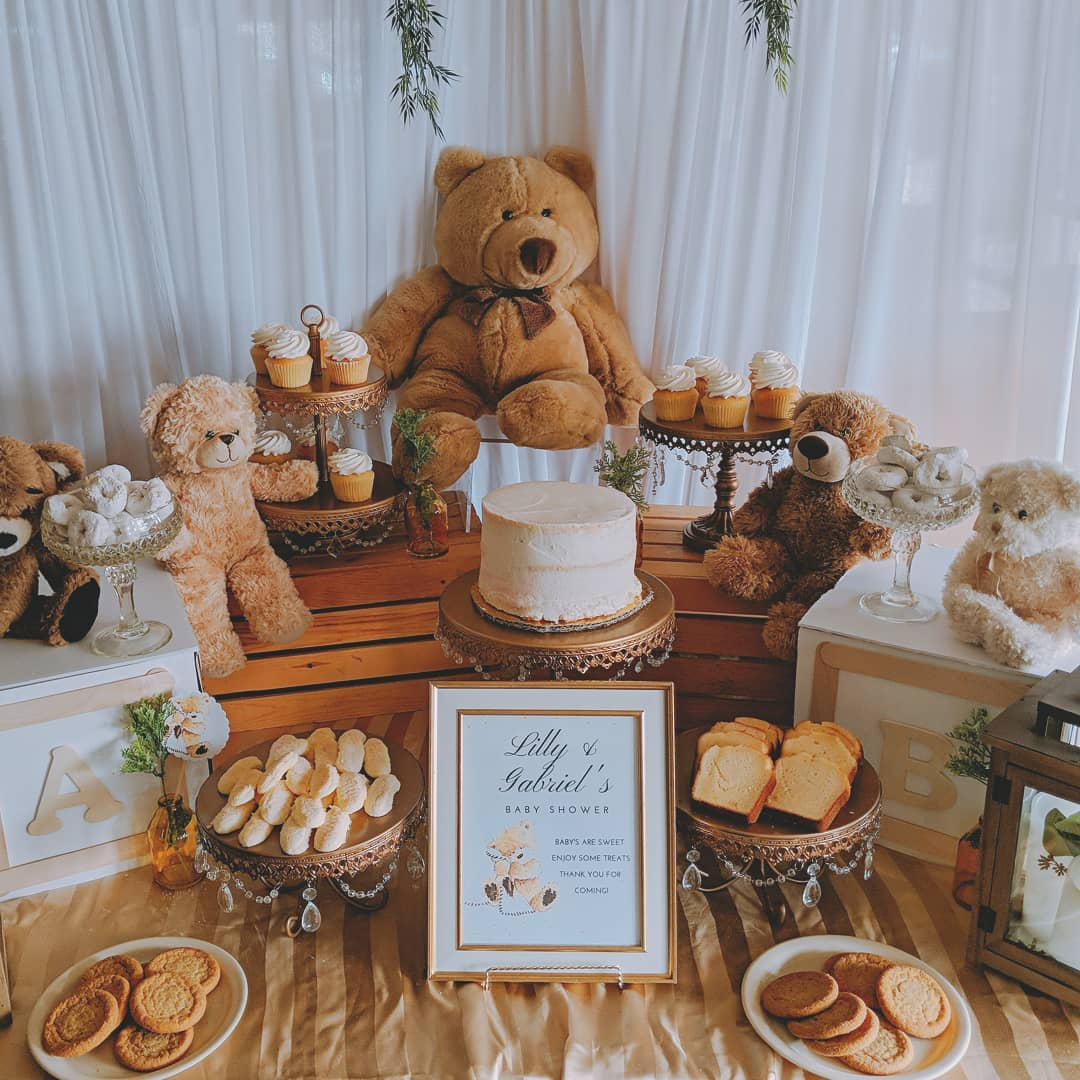 teddy bear baby shower by unique events by lina opulent treasures cake stands.jpg