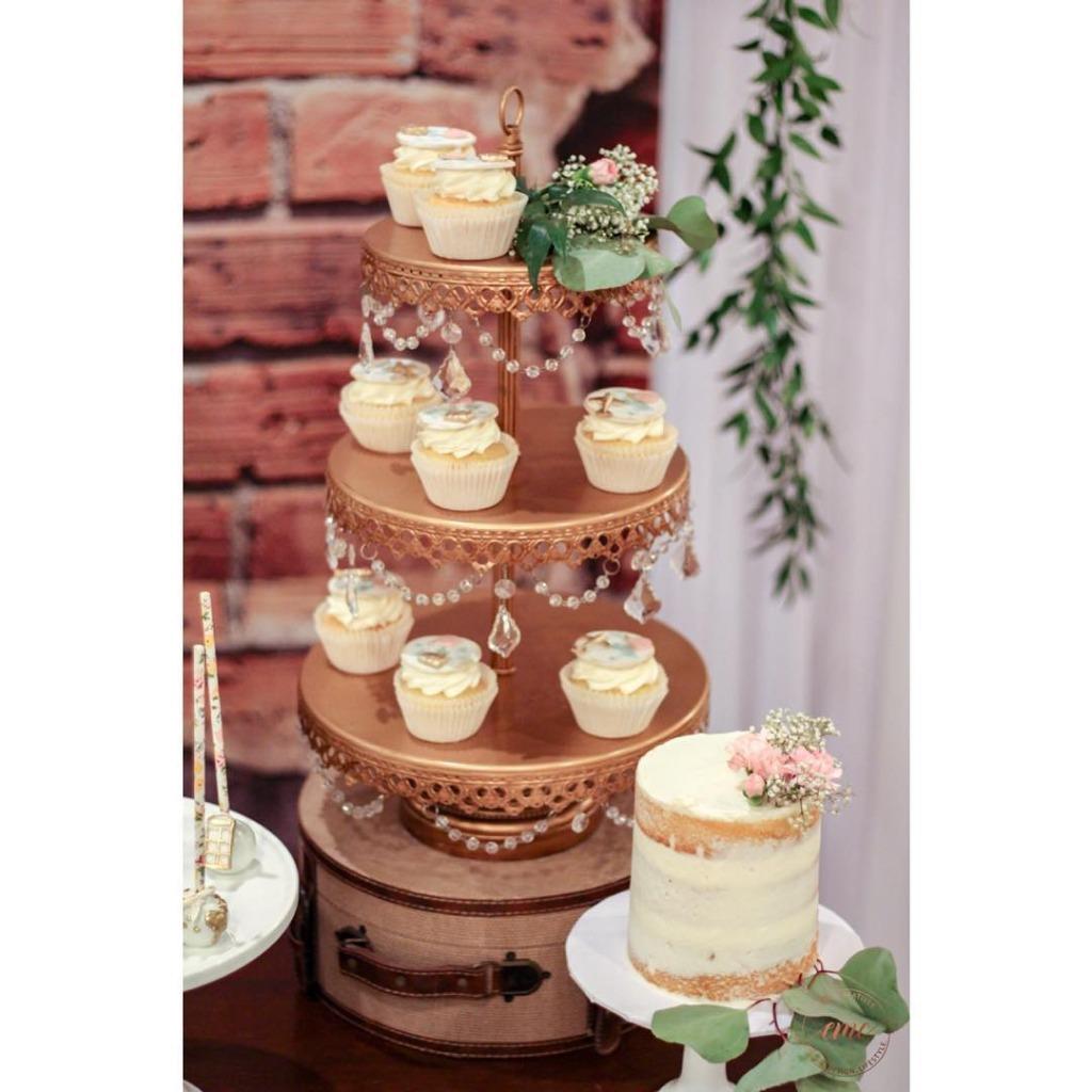 Tiered wedding dessert stand