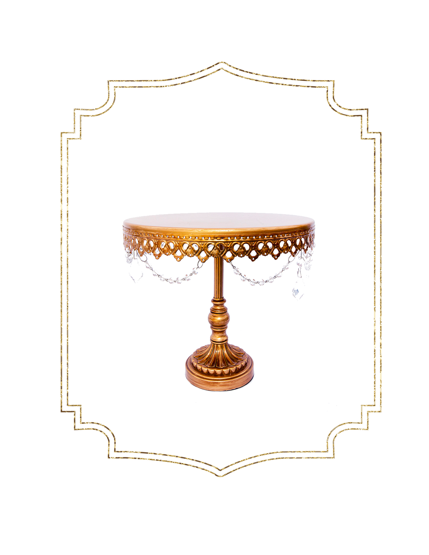SHOP-preview 12 inch single antique gold cakestand.png