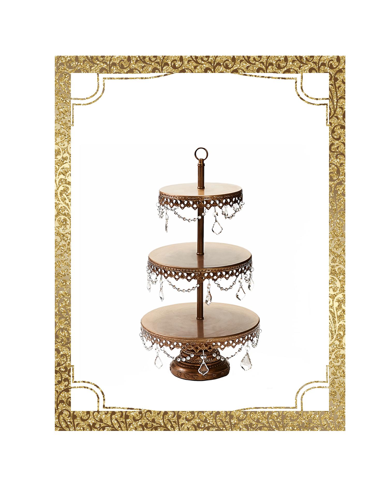 SHOP-preview ANTIQUE GOLD 3 tier chandelier dessert stand.png