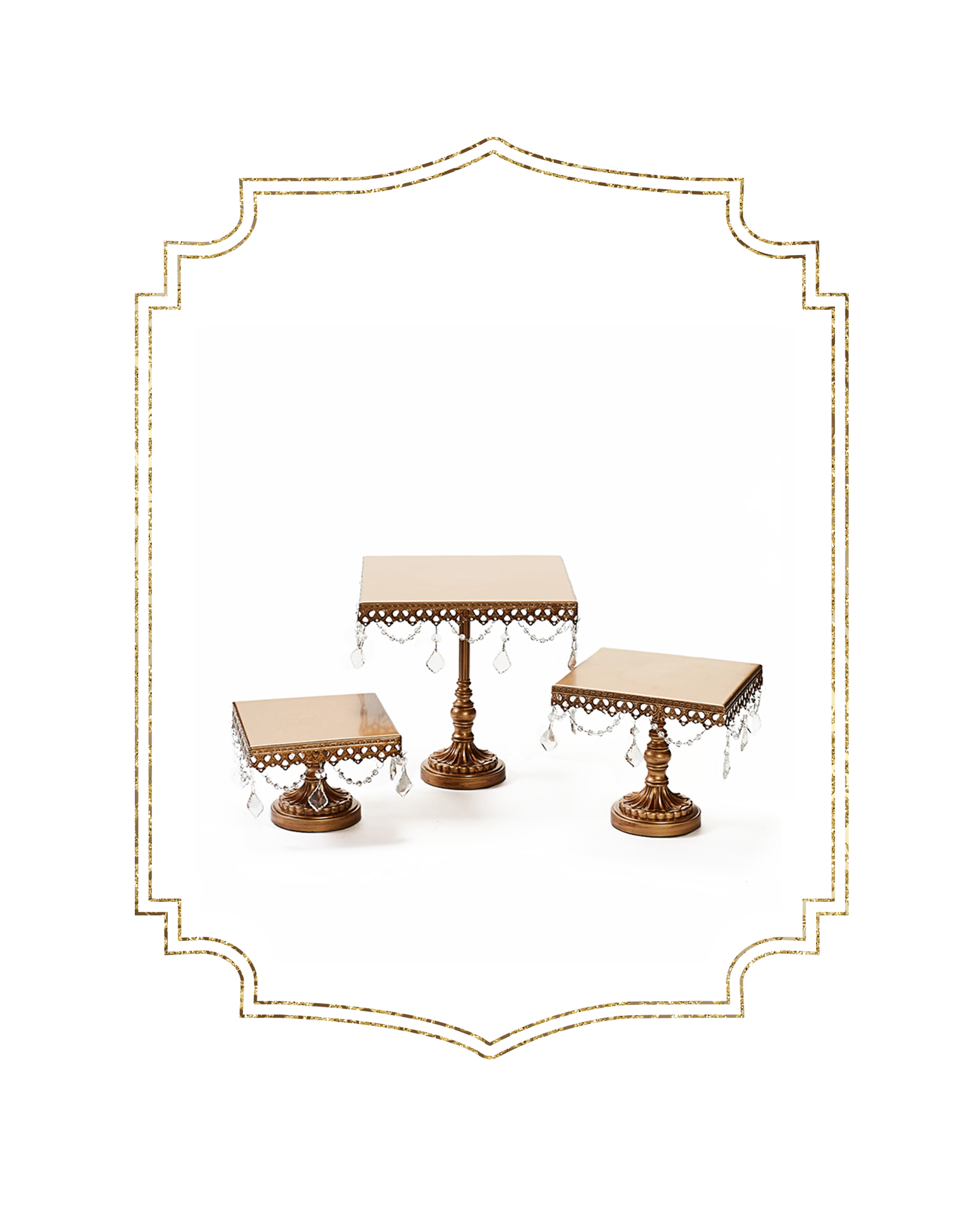 SHOP-preview ANTIQUE GOLD chandelier square cake stands set of 3.png