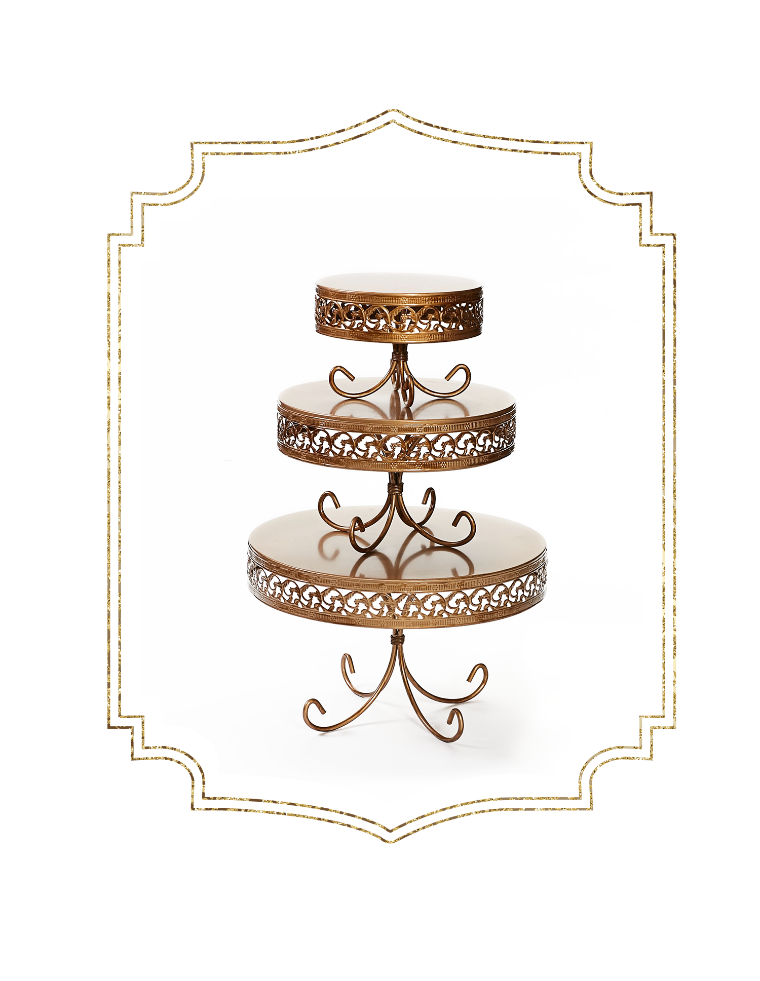 SHOP-preview ANTIQUE GOLD loopy band cake plate.png