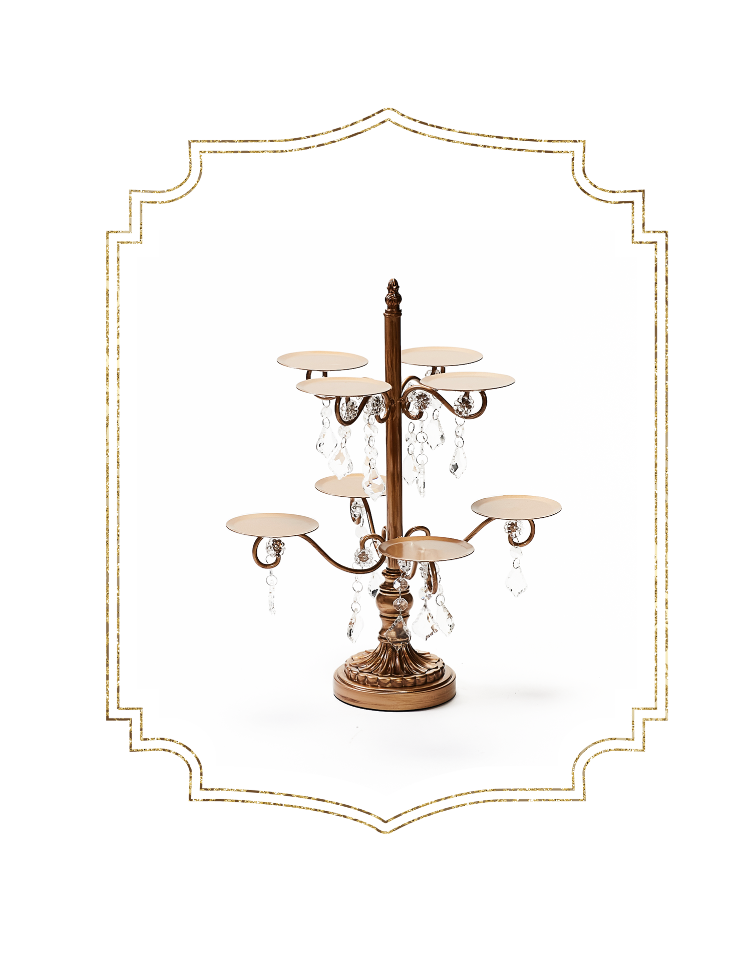 SHOP-preview anyique gold 8 piece chandelier cupcake stand.png