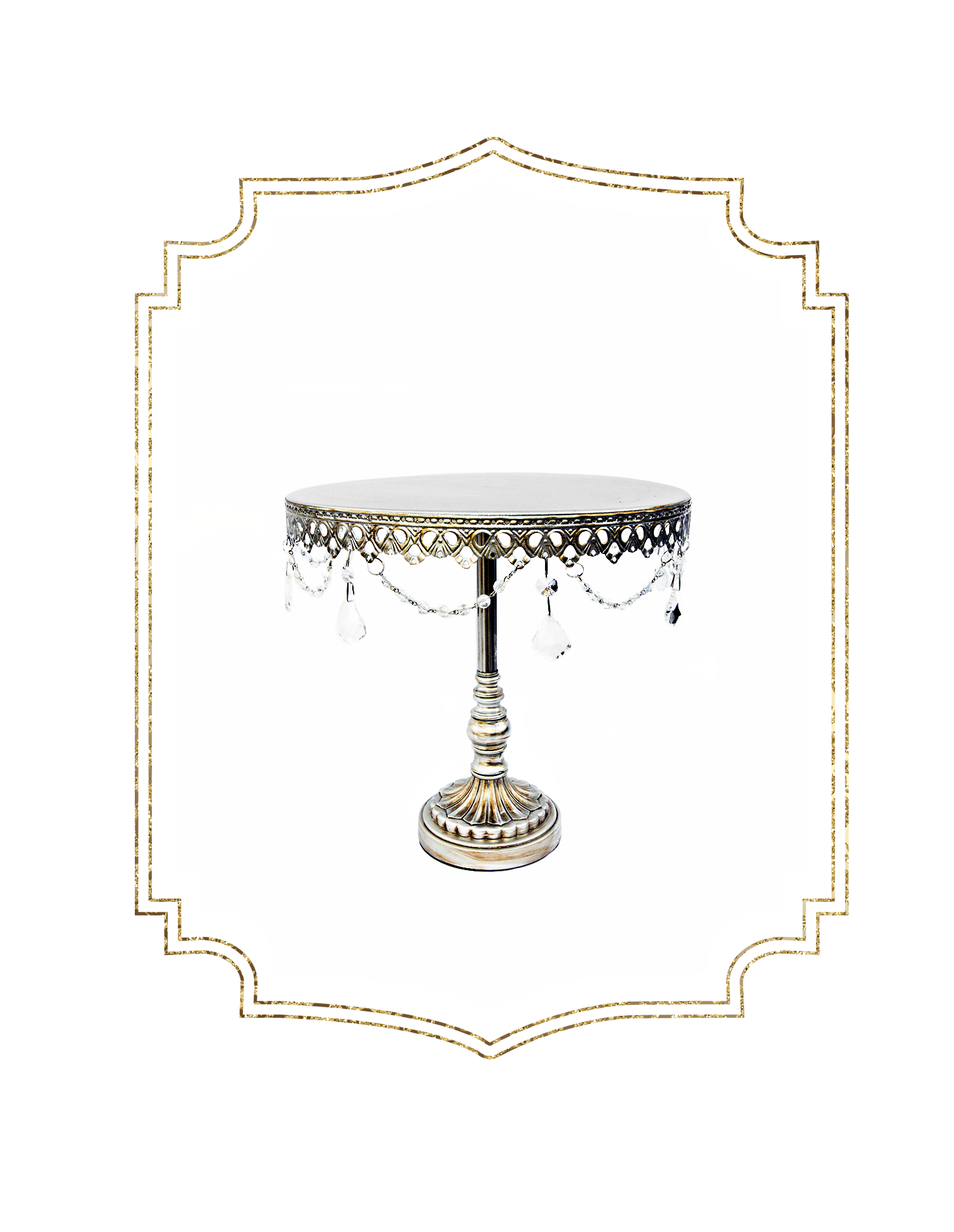 SHOP-preview 12%22 Single Antique Silver Cake stand.png