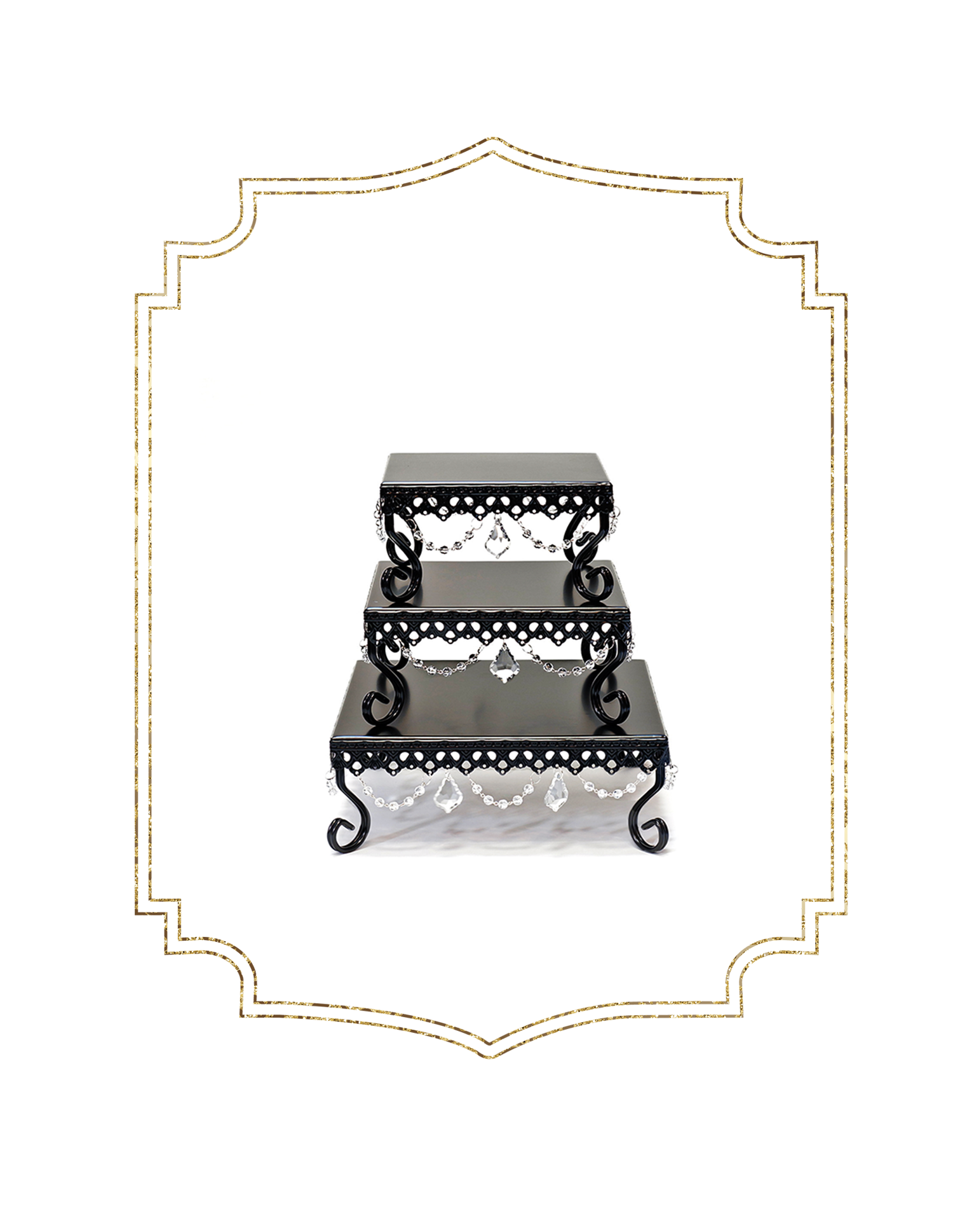 SHOP-preview BLACK chandelier square loopy cake stand.png