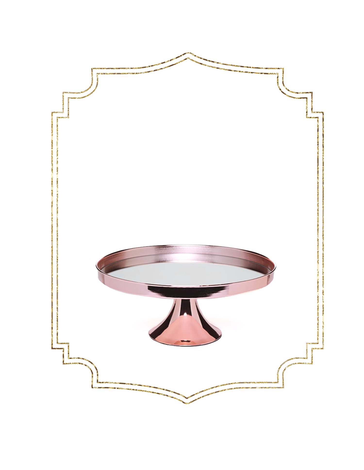 SHOP-preview ROSE GOLD elegant 14%22 cake stand.png