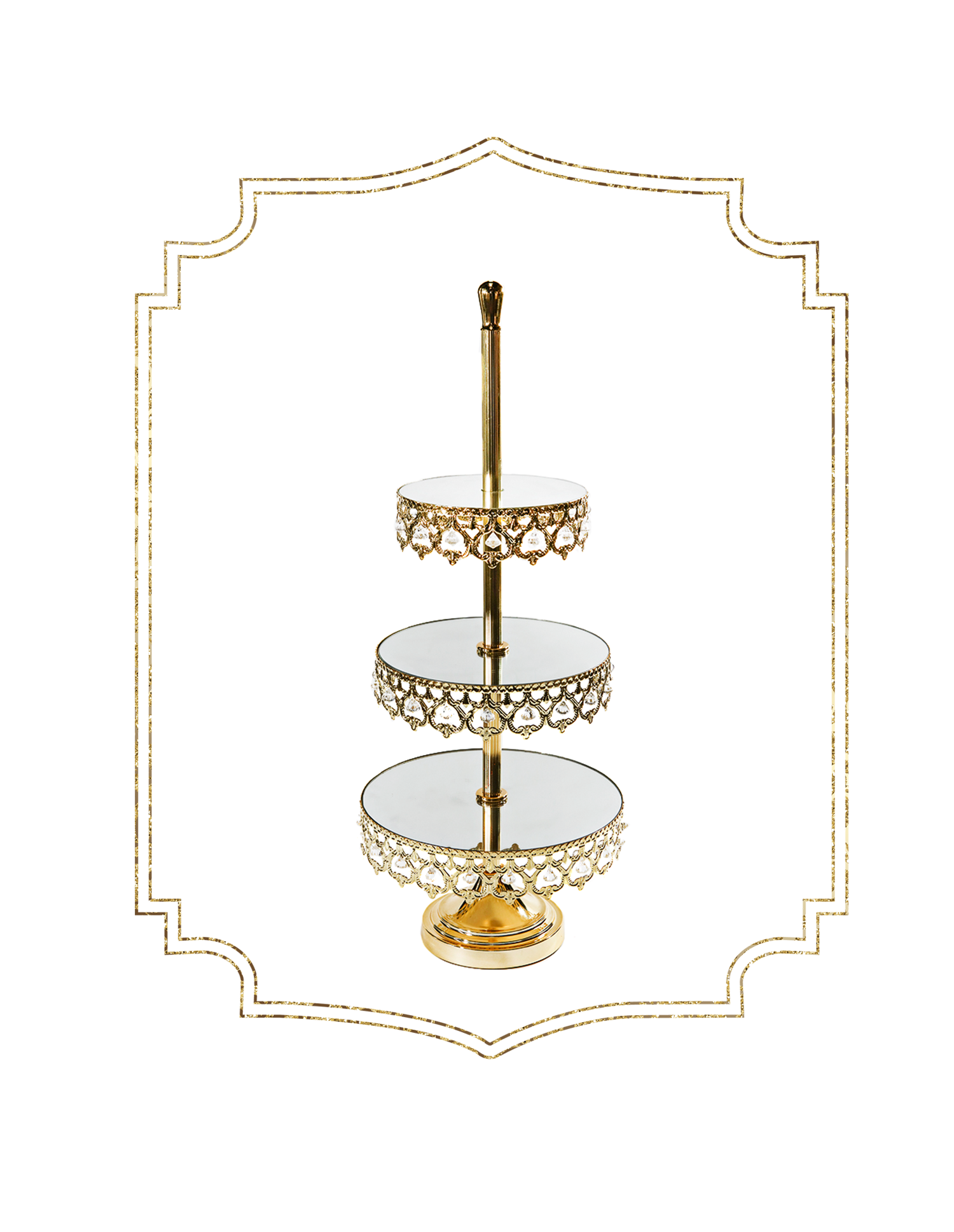 SHOP-preview SHINY GOLD crown 3 tier dessert stand.png