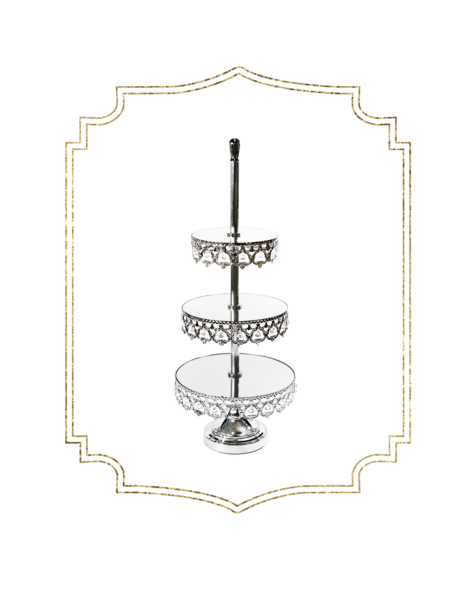 SHOP-preview SHINY SILVER Crown 3 tier dessert stand.png