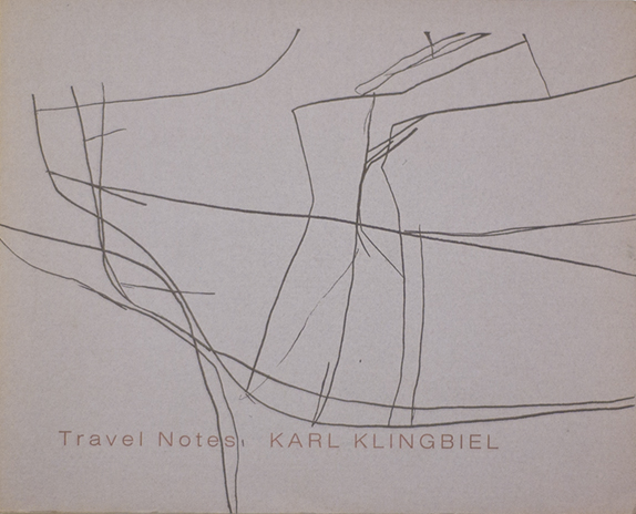 Travel Notes  18pp  Published by the artist and Soho Letterpress, 1993